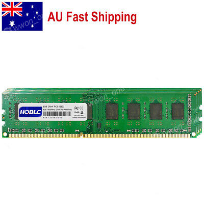 AU 32GB 4x8GB PC3-12800 DDR3 1600MHz 240Pin DIMM Memory For AMD CPU Motherboard