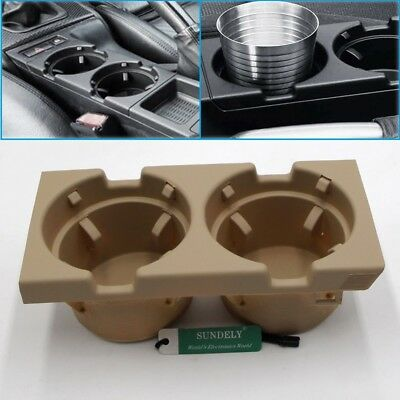 Front Center Console Cup Holder Beige For Bmw 3 Series E46 2004 2005 2006 2007