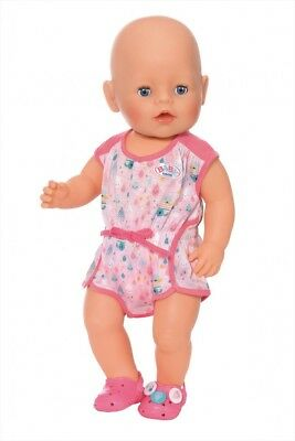 Zapf Creation Baby Born Doll Pyjamas & Pink Shoes Set