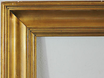 Wood Frame Gold Inside Dimension approx. 20 5/16x28in