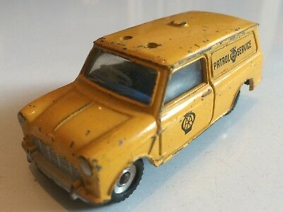 Aa Mini Van  Original Vintage Old Dinky Diecast Toy Car Vf