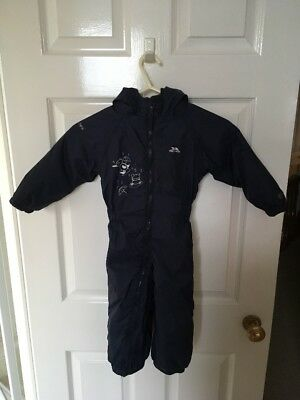 Boys Trespass 18-24 Months All In One Padded Waterproof Suit