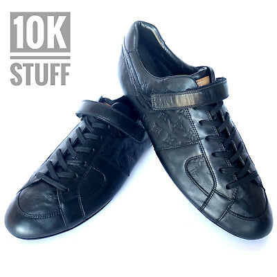 213c731e119d Louis Vuitton Slalom Shoes Sneakers Authentic size 9.5 or 10.5 US Black  Leather