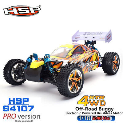 HSP 1/10 Scale Electric RC Car RTR PRO Brushless 4WD 2.4GHz Off-Road Drift Buggy