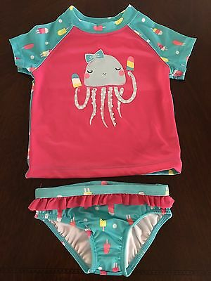 NWT Gymboree Outlet Girl Swim Shop Jelly Popsicle Gash Guard 18-24 2T 3T 4T 5T