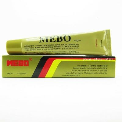 MEBO Burn Healing Ointment Cream Treatment Scalds 40g Exp. 2022