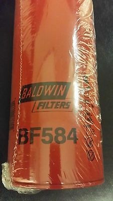New Sealed Baldwin BF584 Fuel Filter FREE SHIPPING Spin-On design