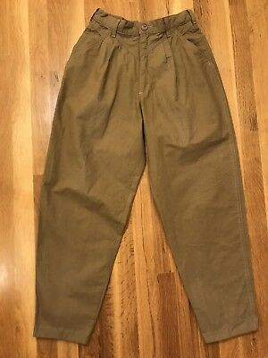 Cherokee Vintage Pleated Pants 80s Women's Size 8 Made In USA