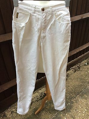 "Armani Junior Boys White Jeans 26"" Waist 33"" Inside Leg"