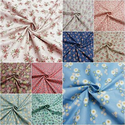 18mm pretty floral bias binding grey pink shabby chic country cottage flowers