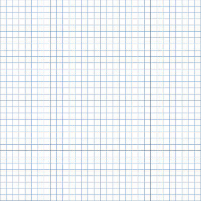 10 x 140gsm GRID / GRAPH PAPER A2 Imperial 1 inch 1/8 inch squares premium paper