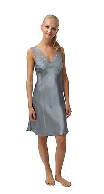 """LADIES BUTTERFLY PRINT SATIN  /""""Summer SHORT CHEMISE SIZES 8//22 BHS BH05139"""