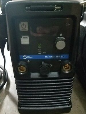 miller 161 maxstar tig and stick.  Barely used