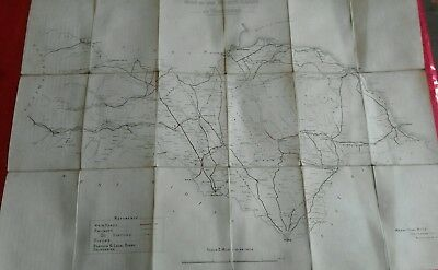 1890 Map Of The North Riding Of Yorkshire.