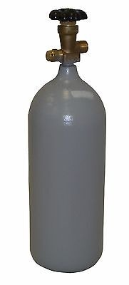 5 lb Steel CO2 Reconditioned Cylinder CGA320 - Fresh Hydro Test - Free Shipping!
