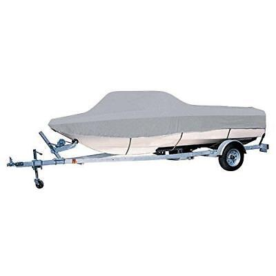 "Quality Sportsboat Ski Boat Cover 17-19ft max 96"" beam + 50ft tie down+mesh bag"