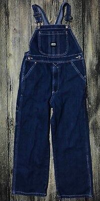 Key Youth Overalls Denim Jeans Sz 10 180.42