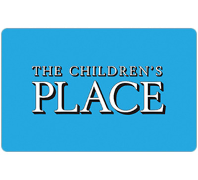 $50 Children's Place Gift Card for only $42.50 - Fast Email delivery