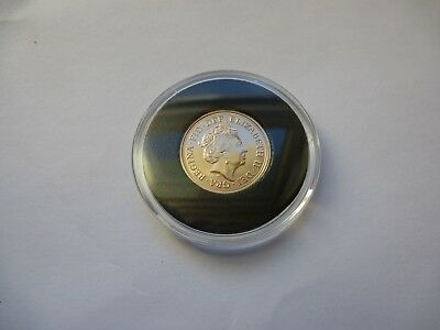 A 2017 Great Britain Full Gold Sovereign - Sealed With COA