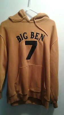 Rare Hard to find  Pittsburgh Steelers Big Ben hoodie size large !
