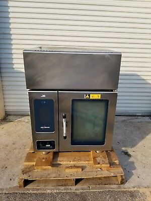 2014 ALTO-SHAAM CTP6-10EVH ELECTRIC COMBI OVEN STEAMER w/ VENTLESS HOOD SYSTEM