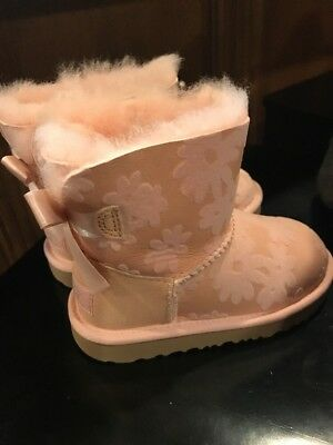 563fabc8cfd UGG TODDLER 9 pink boots rubber lined shoes. Sparkles t Jax retails ...
