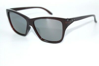 Oakley HOLD ON Sunglasses OO9298-04 Frosted Rhone Frame W/ Black Iridium Lens