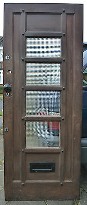 Leaded light stained glass front door. R449. NATIONWIDE DELIVERY!!!