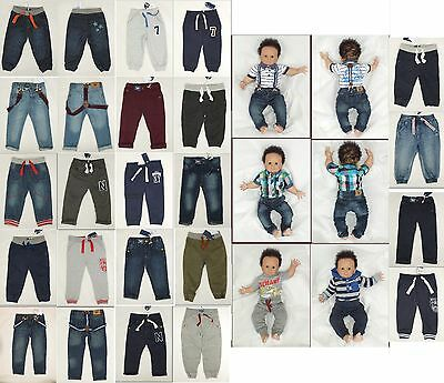 Premium Qualilty Boys Trousers Jeans Joggers Chino SZ-80 86 92 98 104