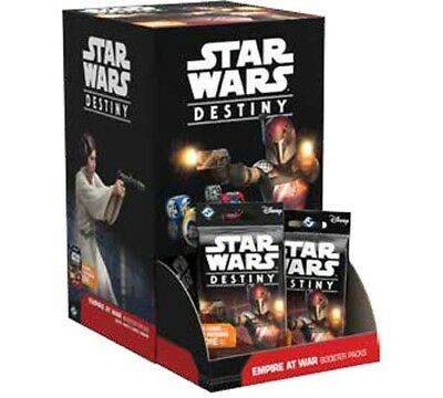 Star Wars Destiny: Empire At War CCG Sealed Booster Box
