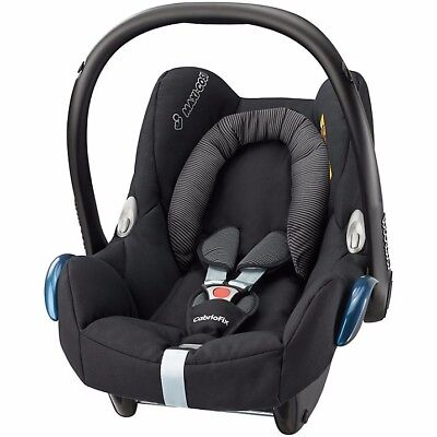 BRAND NEW IN BOX Maxi-Cosi CabrioFix Group 0+ Baby Car Seat Black Raven