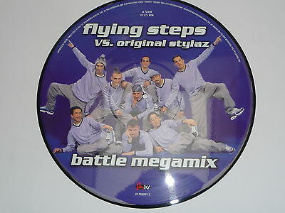 "Picture Vinyl Flying Steps vs. original Stylaz "" Battle Megamix "" NEU"