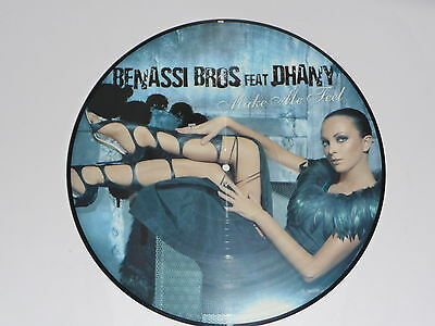 "Picture Vinyl Benassi Bros.feat Dhany "" Make Me Feel "" NEU"