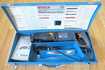 BOSCH PANTHER B4600 Variable Speed 120V Reciprocating Saw w/Case - U.S.A.