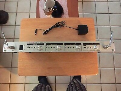 LONG'S U4LE  4 Channel UHF Receiver *WORKING TESTED UNIT*