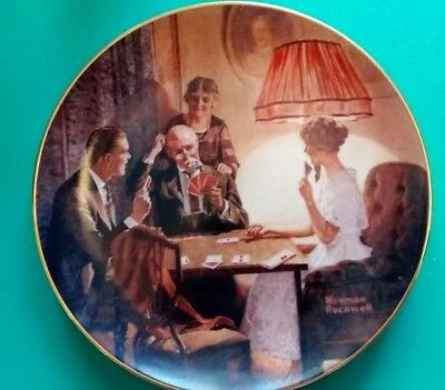 Norman Rockwell Collectible Plate This is The Room That Light Made