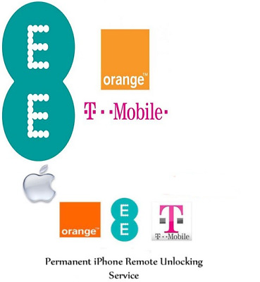 FACTORY UNLOCK SERVICE EE T-MOBILE UK FOR IPHONE 6S-7-7+8-8+-X-XR-XS Max FAST