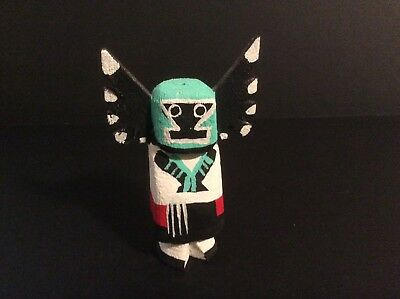 Hopi Route 66 Crow Mother Kachina Doll by Leroy Pooley