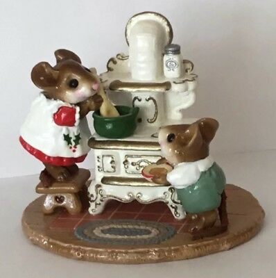 Wee Forest Folk The Old Black Stove  <><>Christmas Limited Special<><>