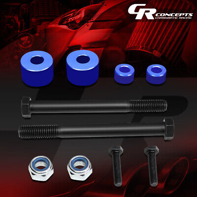 """For 2007-2017 Toyota Tundra 4Wd Pair Blue 1""""front Differential Drop Kit Spacers"""