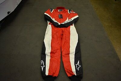 CIRCLE TRACK RACE SUIT ( NEW ) ALPINESTARS GP TECH  FIA 3-Layer FIA Approved,