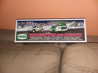 HESS HELICOPTER AND RESCUE 2012 w/ WORKING  LIGHTS & SOUNDS