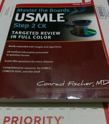 Master the Boards USMLE Step 2 CK by Fischer MD, Conrad 3rd Edition