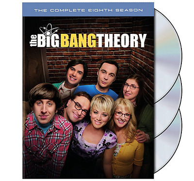 The Big Bang Theory: The Complete Eighth Season 8  (DVD, 2015) New US Seller