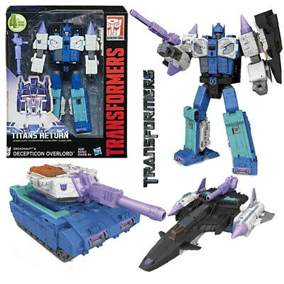Transformers Generations Titans Return Leader Dreadnaut & Decepticon Overlord