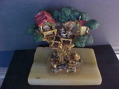 "Scarce!1987 Ron Lee Signed/Numbered, ""Home Sweet Tree"", Clown Sculpture, L-111"