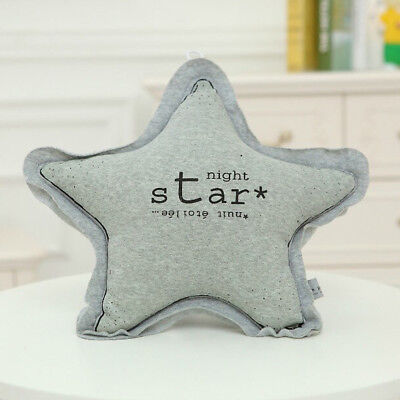Glow In Dark Baby Back Cushion Big Star Infant Comforter Toys Throw Pillow