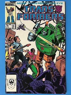 1986 Marvel THE TRANSFORMERS # 14, Jetfire Joins the Autobots, Near Mint Shape!