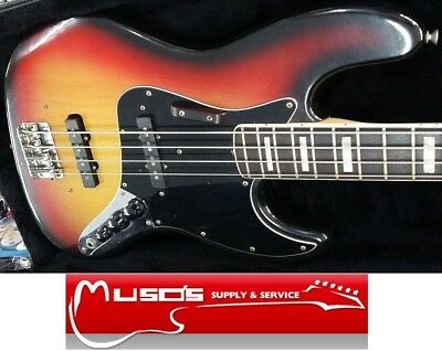 Fender USA Jazz bass 1975 Sunburst Rosewood Fingerboard with case - Pick up only