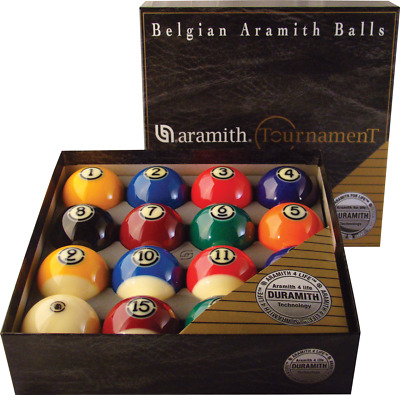 Aramith Duramith Tournament Ball Set - Free Shipping & 3 Free Bonus Items